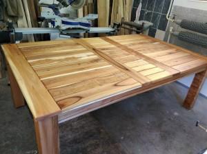 zahradný set, brest, stol